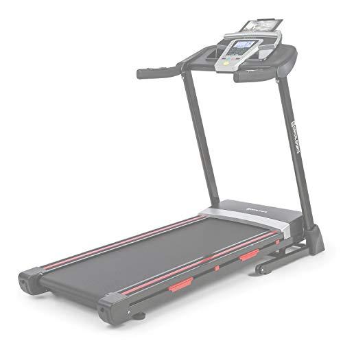 Capital Sports Pacemaker F80 Laufband, LCD-Display, 3 PS Motorleistung, 1-14 km/h, 9 Programme, Lauffläche: 40 x 120 cm (BxL), 4P-AntiShock Suspension, Pulsberechnung, Rollen