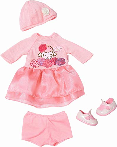 Zapf Creation 701966 Baby Annabell Deluxe Set Strick 43cm, rosa