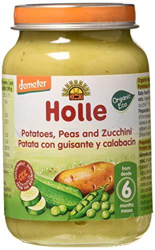 Holle - Potito Patata con Guisante y Calabacín Holle 190 gr 6m+