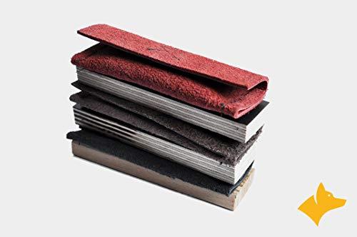 Naloux Fährtengegenstände als Belohnungstaschen auf Holz im Set für die Verweisarbeit IPO Fährtengegenstände