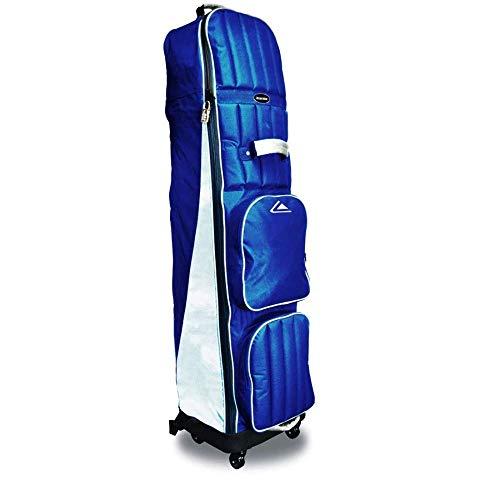 Long Ridge Abdeckung für Golfschlägertasche, 4 Räder Blau Navy/Silver Nicht zutreffend