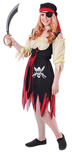 Pirate Girl - Adolescents Costume de déguisement - Taille 34 à 38