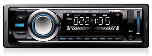 XO Vision FM and MP3 Car Stereo Receiver