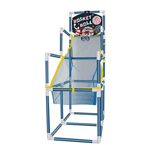 HFRTKLSAW Aro De Baloncesto Desmontable, Máquina De Tiro Arcade para Niños, Juguetes Deportivos para Niños, Oficina, Dormitorio, Jardín