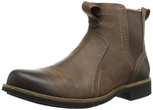 Hot Sale Clarks Men's Meldon Mid Boot,Brown Leather,9.5 M US