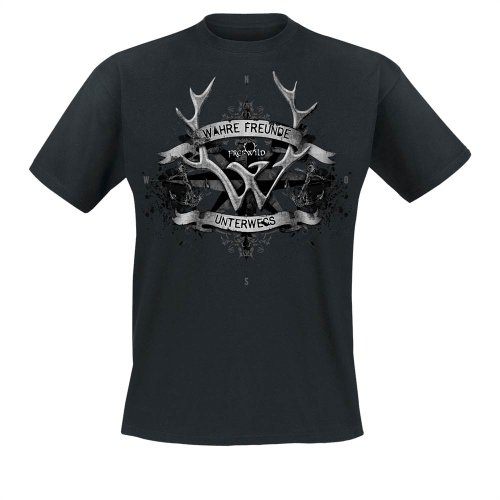 Frei.Wild - Wahre Freunde Unterwegs T-Shirt, schwarz, Grösse L
