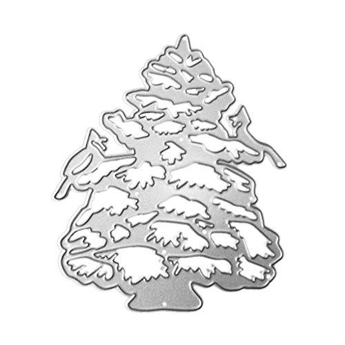 Mr. Better Perforadora–Troquel, Árbol de Navidad Nieve Scrapbooking Plantillas Relieve lonen para...