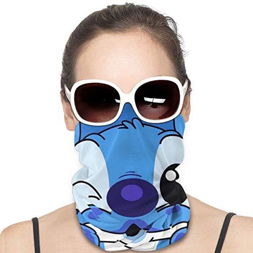 Yellowbiubiubiu Lilo Stitch Anime Variedad de dibujos animados Turbante Protección contra el polvo para hombres y mujeres Cubre el cuello Polainas para el verano caliente ciclismo senderismo pesca deporte al aire libre