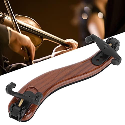 Reposabrazos para violín, en forma de Micro S Almohadilla para reposacabezas para violín ajustable en altura Diseño ergonómico para la posición del hombro y la barbilla(3/4-4/4, blue)