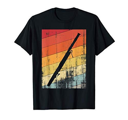 Das Holzinstrument Fagott für alle Fagott Musiker T-Shirt