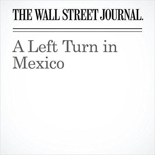 A Left Turn in Mexico copertina