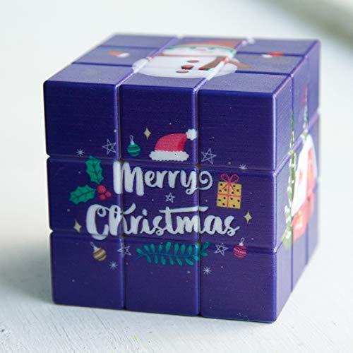 YQY Cubo mágico, Cubo de Rompecabezas de 3x3x3, fácil Turno y reproducción Suave Puzzle de Aprendizaje Juguetes educativos Regalos para niños Adultos