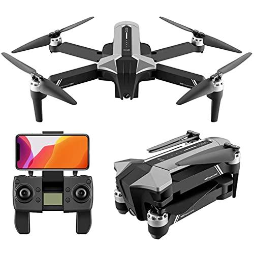 DCLINA Drone GPS Pieghevole 4K Drone con videocamera HD 40 Milioni Pixel con Motore brushless per Principianti