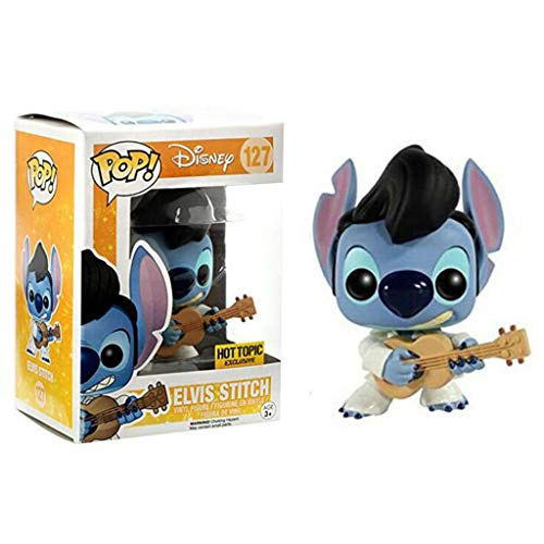Luck7DZ Elvis Puntada Figura Jumba Jookiba película Lilo & Stitch Vinyl Pop Figura de Kid