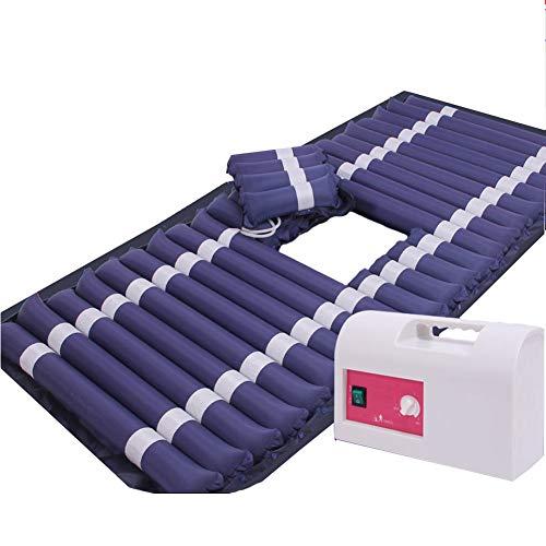 CANDYANA Alternating Pressure Medical Anti-Dekubitus-Kissen Bett Menschen Hämorrhoiden Pad Patienten Home Care Luftmatratze,Deepblue,200x90cm