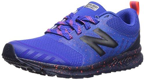 New Balance Boys' Nitrel v3 Trail Running Shoe, Pacific/Pigment, 12 M US Little Kid