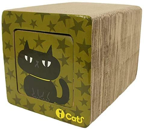 iCat アイキャット オリジナル飛び出すつめとぎ ネコトンネル 猫 つめとぎ