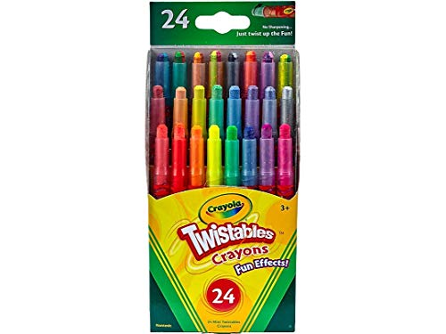 Crayola 52-9824 Twistables Fun Effects Crayons 24 Count