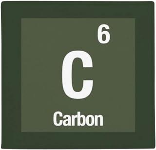 DIYthinker Planta Pet Square Alfombra de su casa Puerta de la Cocina 80cm Regalo c Carbono Elemento químico Ciencia Antide...