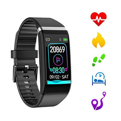 orologio fitness tracker con notifica SMS PXFD Braccialetto fitness con monitoraggio dellattivit/à uomini e bambini per donne