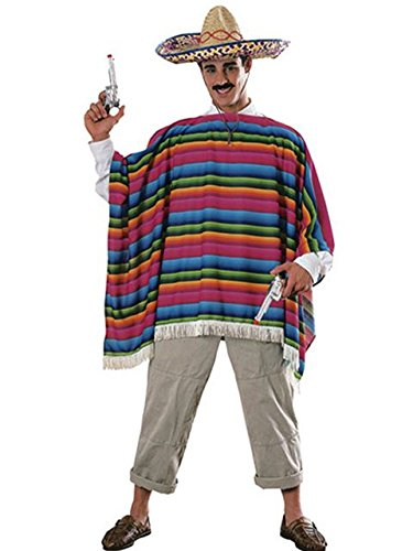 Mexican Serape Adult