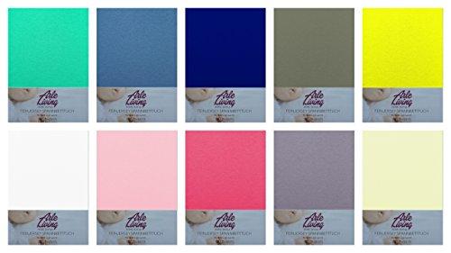 Arle-Living - Sábana bajera ajustable para niños, 60 x 120 - 70...