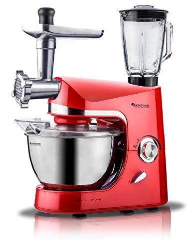 Turbotronic robot da cucina multifunzione 2000w 5Litri Rosso