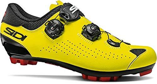 Sidi Men's MTB Eagle 10 Cycling Shoe, yellow, 42