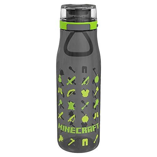 Vanilla Underground Minecraft Resources Kiona - Botella de agua deportiva reutilizable (739 ml)