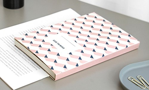 【ICONIC DESIGN】アイコニック ドローイングブック v.2 (D) 無地ノート おしゃれ かわいい 裏抜けしない【Amazon.co.jp限定】