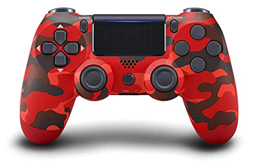 PS4 Controller Wireless Bluetooth Gamepad, Touch Panel with Dual Vibration...