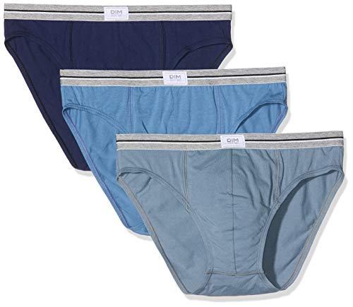 Dim Ultra Resist, Slips Homme, Multicolore (Bleu Jean/Gris Souris/Bleu Denim 96h), X-Large, Lot de 3