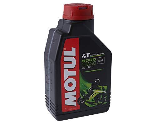 1 Liter Motoröl MOTUL 4T 10W30 5000 4 Takt ÖL Oil OEL Roller Motorrad Quad MOFA