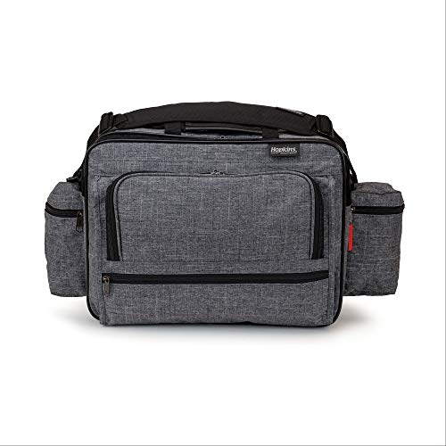 Hopkins Medical Products Antimicrobial Mark V ExL Shoulder Bag for Nurses, Home Heathcare and Medical Professionals
