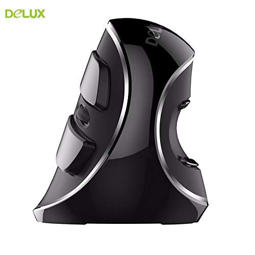Mouse Ergonomico Vertical M618 Plus 1600dpi USB Sem fio