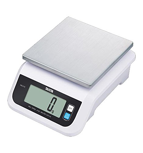 Tanita KW-210-05 Water Proof Commercial and Home Use Kitchen Scale (5 kg/11 lb)