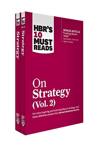 HBR's 10 Must Reads on Strategy 2-Volume Collection (English Edition)