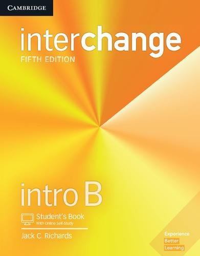 Interchange Intro B - Student´s Book With Online Self-Study - 05 Edition