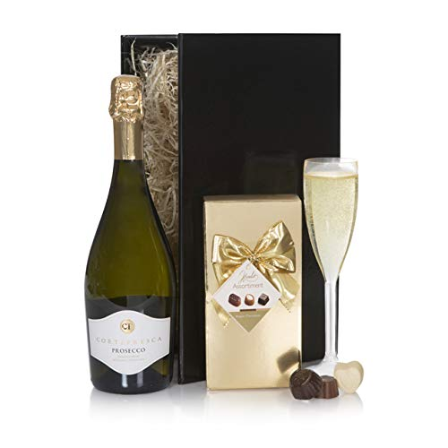 Prosecco and Chocolates Hamper, Prosecco Gifts Hampers and Baskets
