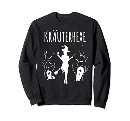 Kräuterhexe Kostüm für Frauen & Kräuterschnaps Hexen Sweatshirt
