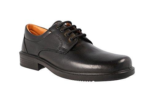 Luisetti 0101, Zapatos de Trabajo para Hombre, Negro (Negro 000), 41 EU ✅