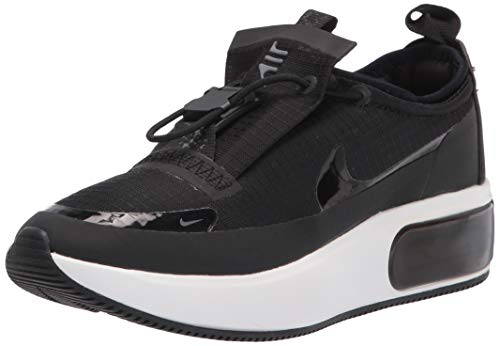Nike W Air Max Dia Winter, Chaussure de Course Femme, Noir/Noir-Anthracite-Blanc Sommet, 40.5 EU