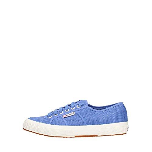 N. Klauser Textilvertriebsgesellschaft mbh Superga Unisex 2750 Cotu Classic Sneaker, Blau (Blue Iris C20), 37 EU
