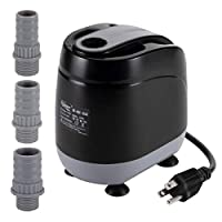 660GPH Aquarium Water Pump,Submersible Water Pump Max 8.2ft High Lift,Anti-dry Burn Protection 360° All-round 0.79in Ultra-low Water Level IPX8 Waterproof for Fish Tank, Pond, Hydroponics (35.5W )