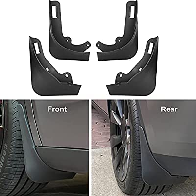 Nansure Mud Flaps for Tesla Model Y Splash Guards Mudguard Mudflaps Car Accessories for Model Y, No Need to Drill Holes?Set of 4?