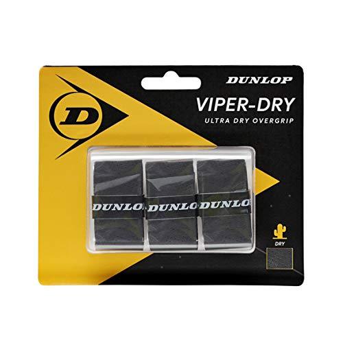 Dunlop 613257 Grip de Tenis, Unisex-Adult, Negro, Talla Única