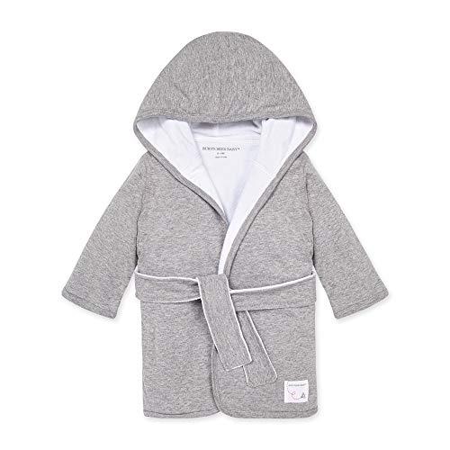 Burt's Bees Baby - Accappatoio, accappatoio con cappuccio per bambini, in tessuto assorbente in 100% cotone biologico,...