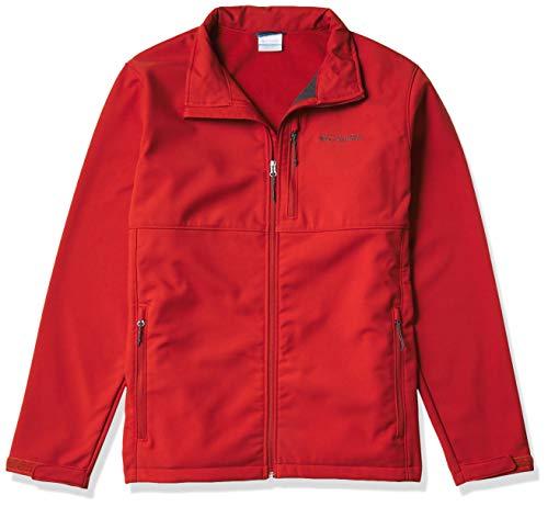 Columbia Ascender Softshell Jacket Chaqueta entallada, marrón oscuro, M para Hombre