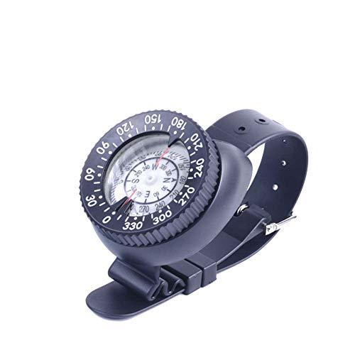 JXS-Compass Brújula de Buceo Tipo Reloj, Puntero magnético Fuerte, Fluorescente Impermeable, Aventura al Aire Libre Senderismo