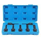 GTFHUH Extractor de Pernos Rotos, 7 unids/Set 1/2 pulg, 12,5 mm, Cabeza Cuadrada, Extractor de Pernos dañados, Deslizamiento de roscas, Perno Roto, Herramienta de extracción fácil